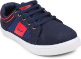 Columbus Sneakers (Navy, Red)