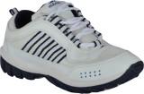 Bindas Champs Running Shoes (White, Oliv...