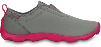 Crocs Casual Shoes(Grey, Pink)