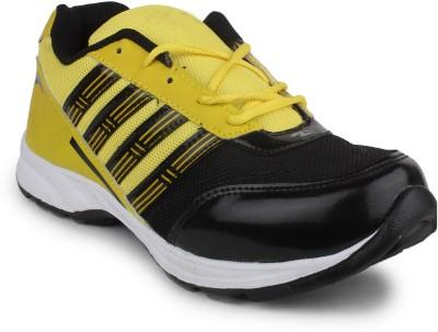 11e 11e Black Yellow Running Shoes