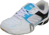 Vijayanti Badminton Shoes (White, Blue)