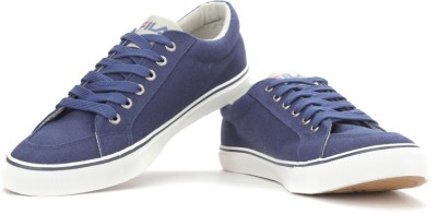 774260ab11c Fila ACHILLEO Canvas Shoes Blue available at Flipkart for Rs.1329
