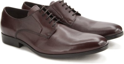 Clarks Banfield Walk Chestnut Leather lace up