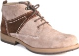 BellBut Casual Shoes (Beige, Brown)