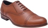Bxxy Lace-up Brogue Shoes Lace Up (Tan)