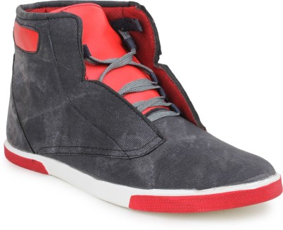 11e 418-Grey-Red Sneakers