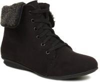 Bruno Manetti Cannelita Boots(Black)