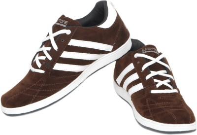 Pede Milan Enfield-Brown Casual Shoes