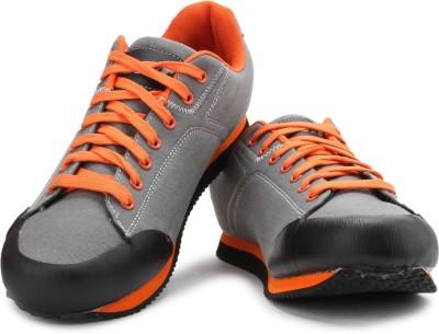 Alphawoolf Pala 1.0 Men Sneakers(Grey, Orange)