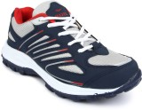 Maxel Blue And Red Sports Running Shoes ...