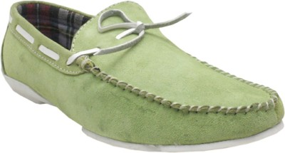 Jack Don Mens Loafers(Green)