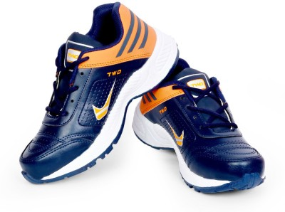 TOUCHWOOD Shot Navy/White Sports Running Shoes, Walking Shoes