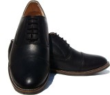 ASM Black Oxford Corporate Casual Shoes ...