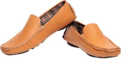 Pede Milan L 16- Tan Loafers