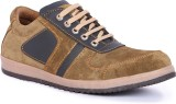Shumael Olive Suede Leather Casual Shoes...