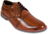 Adreno Lace Up Shoes (Brown)