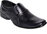 Snappy Formal Shoes Slip On (Black)