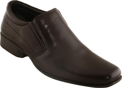 Cizmar Cizmar Slip-on shoes in Brown Leather Slip On Shoes