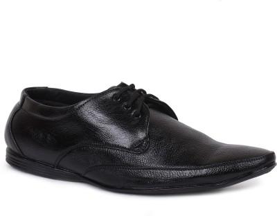 Rozo Black Formal Lace Up Shoes
