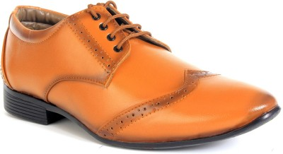 World Walker Brogue Shoes Lace Up