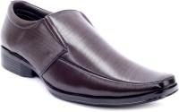 Adam's Heel Slip On Shoes(Brown)