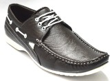 BLK LEATHER Loafers (Brown)