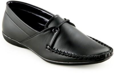 Faces By Devils Vesta Black Boat Shoes