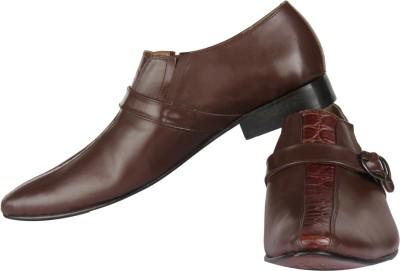 Claude Lorrain Semi Formal Brown Slip On Shoes