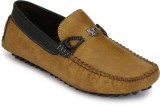 Braavosi Loafers (Tan, Black)