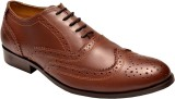 Hirel's Mens Leather Brogues Lace Up Sho...