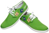 Valenki Canvas Shoes (Green)