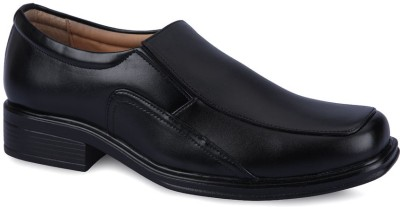 Force Hill 2811 Black Slip On Shoes