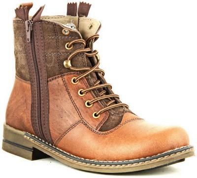Lee Fog Javan Brown Boots