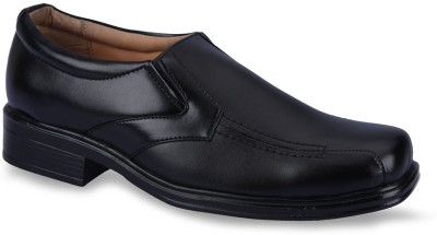 Force Hill 6138 Black Slip On Shoes