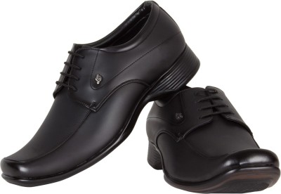 TFW Ox 3384 Bk Lace Up Shoes