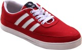 Vonc Canvas Shoes (Red)