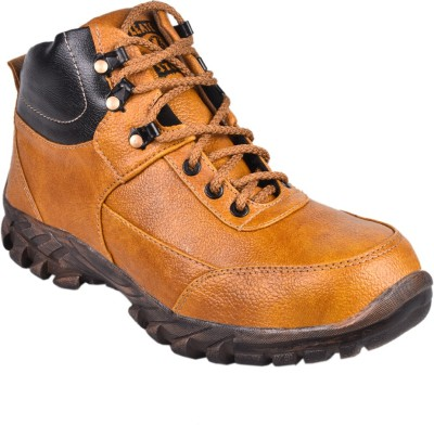 Udenchi Steel Toe Safety Shoe LS504 Boots available at Flipkart for Rs.950