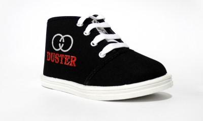 Amvi Duster Plain Black Casual Shoes