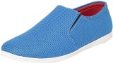 Fraction Canvas Shoes (Blue)
