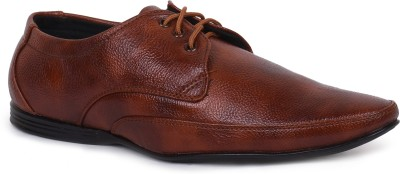 Rozo Tan Formal Lace Up Shoes
