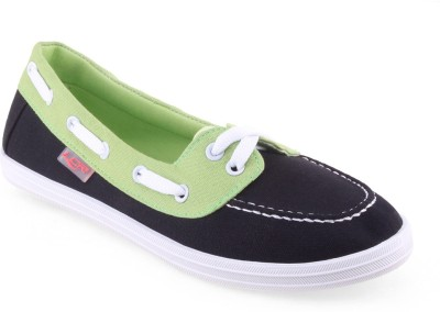 Lancer Casual Shoes(Black, Green)
