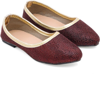 Ridhi Sidhi Ember Passion Maroon Bellies