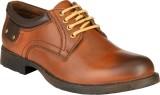 GAI Tan Leather Casual Shoes (Tan)