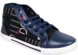 Star Ab Dojesblue Canvas Shoes (Black)