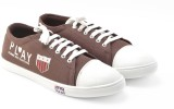 Boysons Canvas Shoes (Brown)