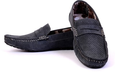 Sam Stefy Blue Loafers