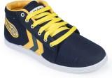 Rajdoot Canvas Shoes (Navy, Yellow)