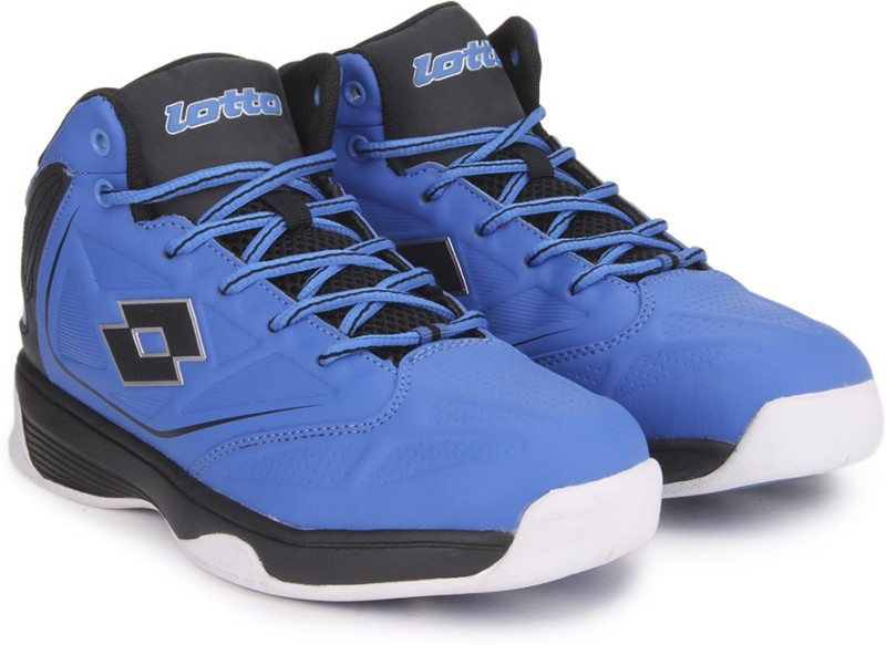 Lotto Fire Hi BasketBall ShoesBlue