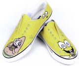 F-Gali The Spongebob Low Top Canvas Shoe...
