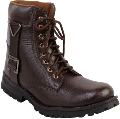 Gato Biker Brown Long Boots